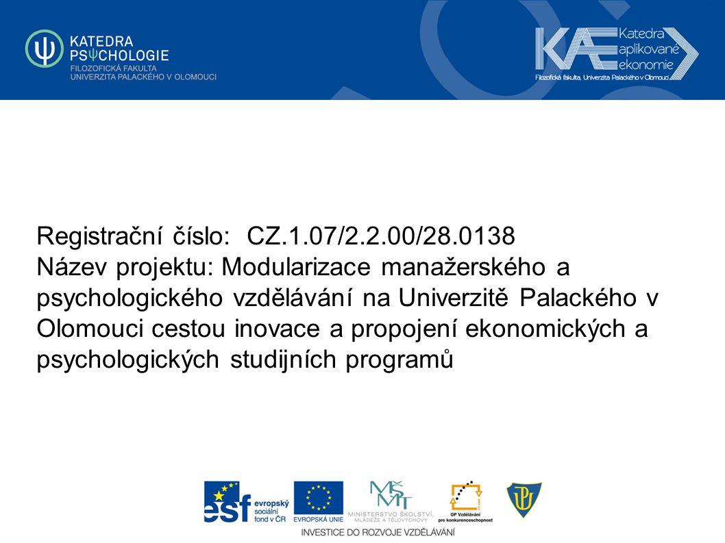 Registrační číslo: CZ.1.07/2.2.00/28.0138