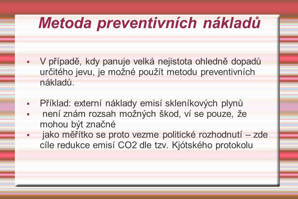Metoda preventivních nákladů