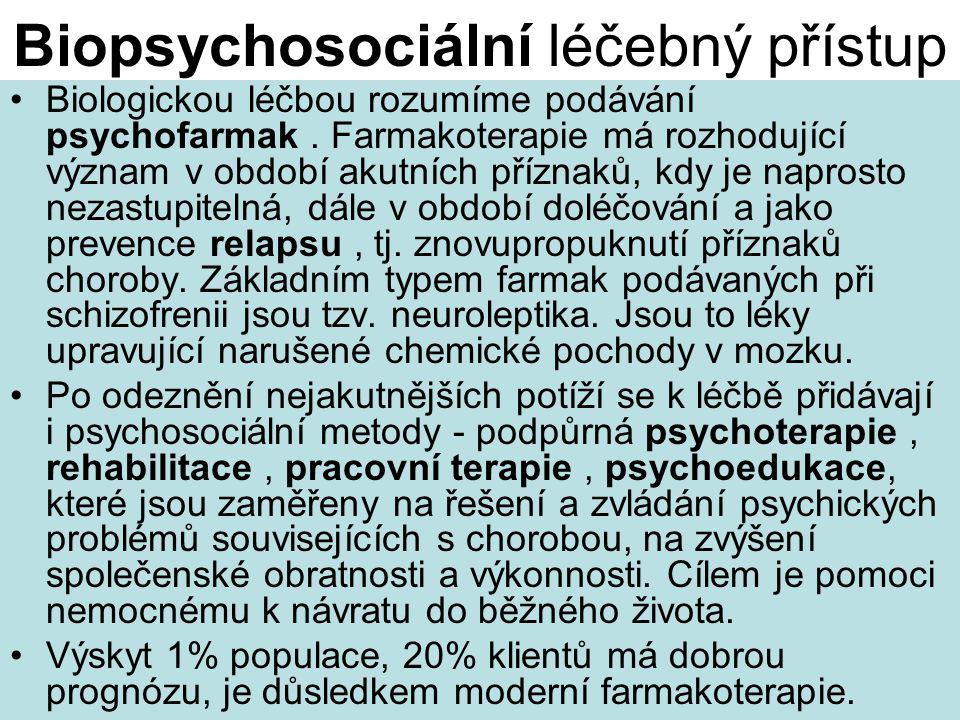 Biopsychosociální léčebný přístup
