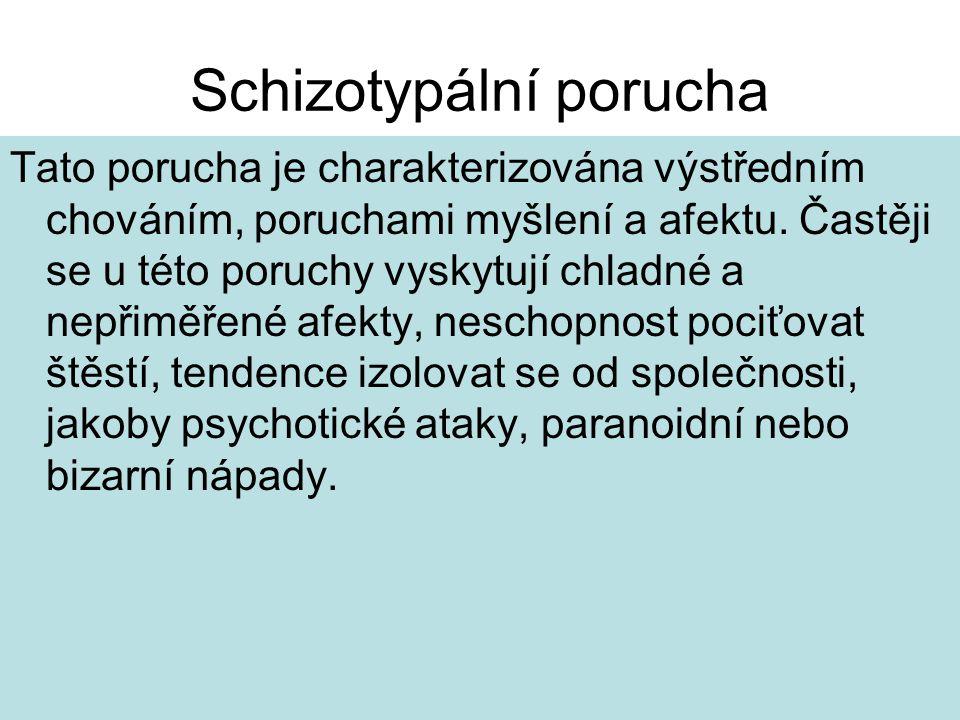Schizotypální porucha