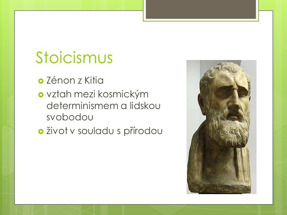 Stoicismus Zénon z Kitia