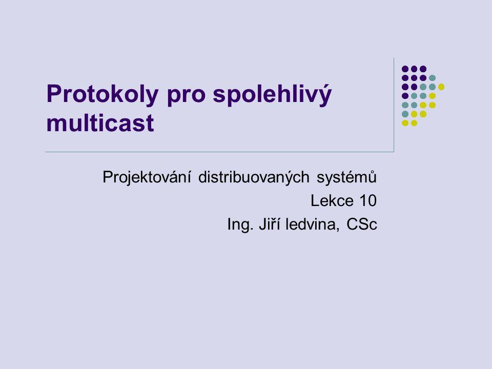 Protokoly pro spolehlivý multicast