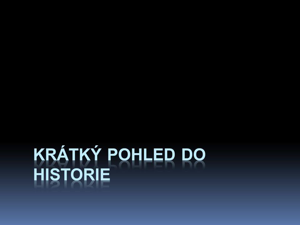 krátký pohled do historie