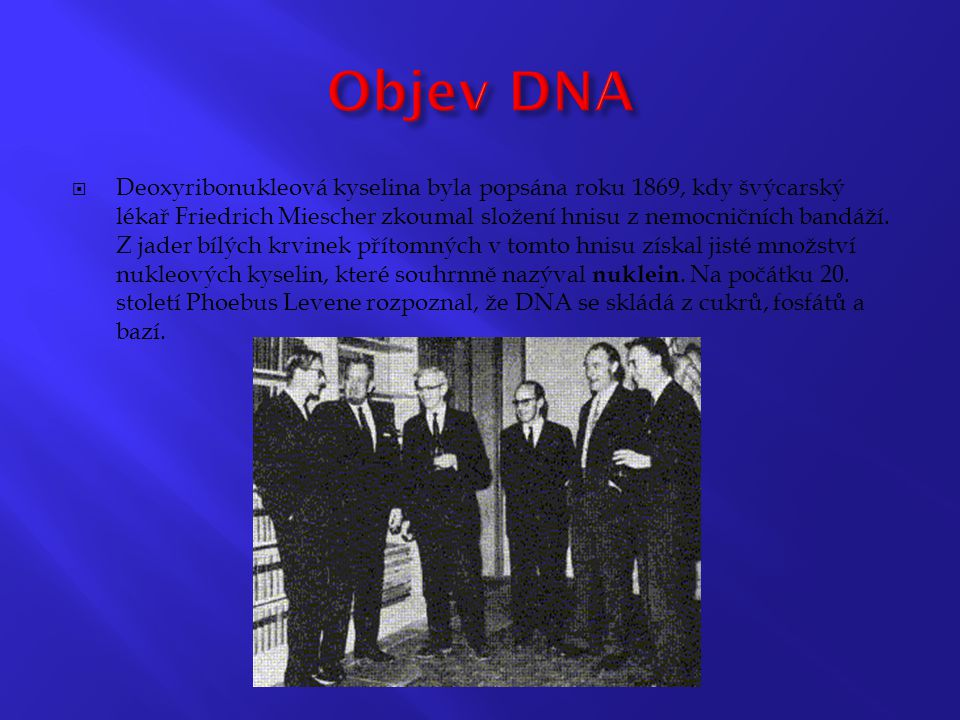 Objev DNA