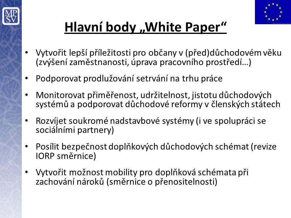 """Hlavní body """"White Paper"""