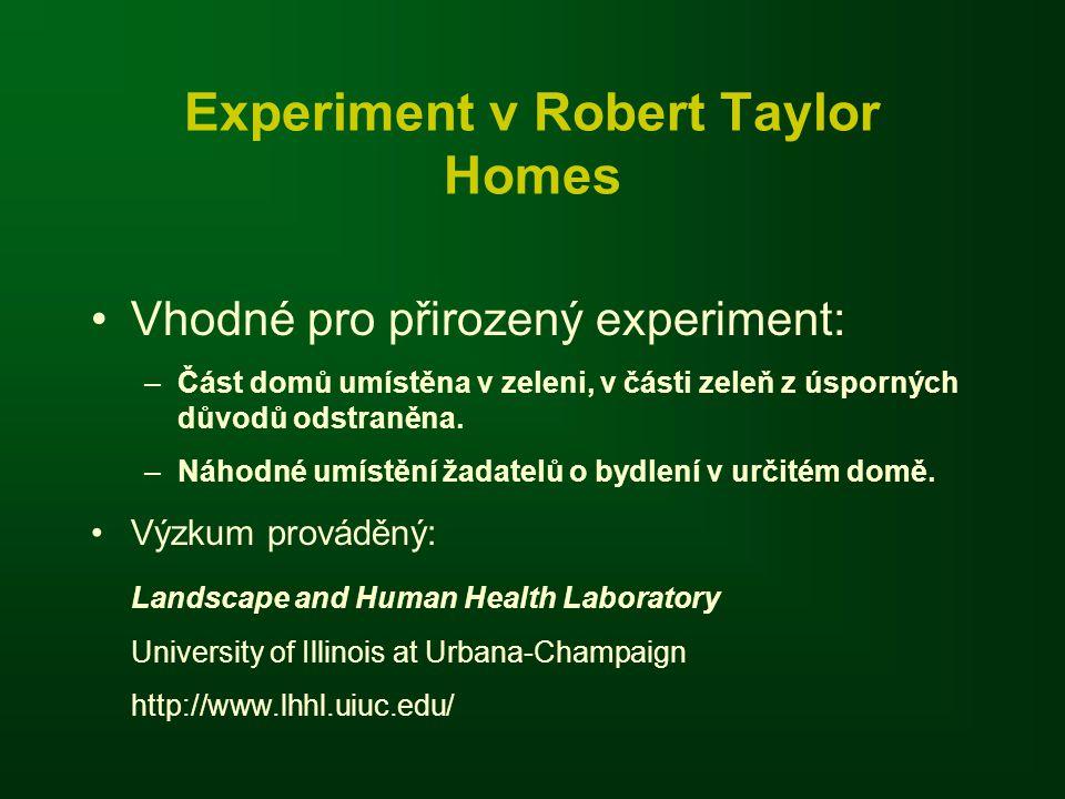 Experiment v Robert Taylor Homes