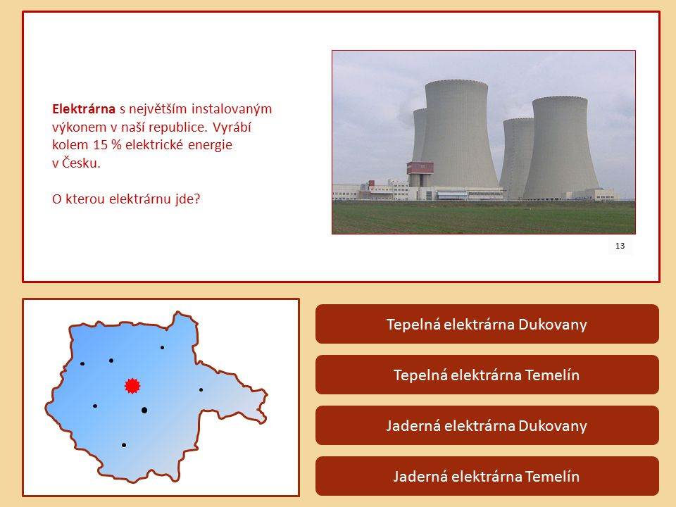 Tepelná elektrárna Dukovany