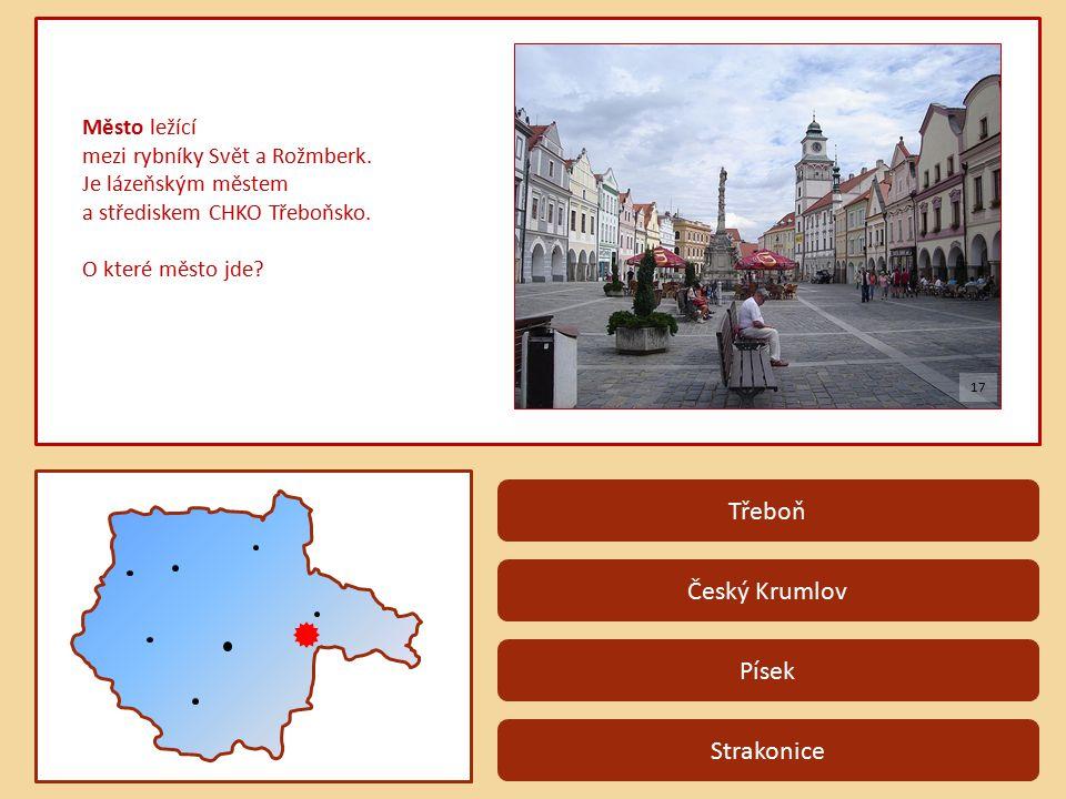 Třeboň Český Krumlov Písek Strakonice