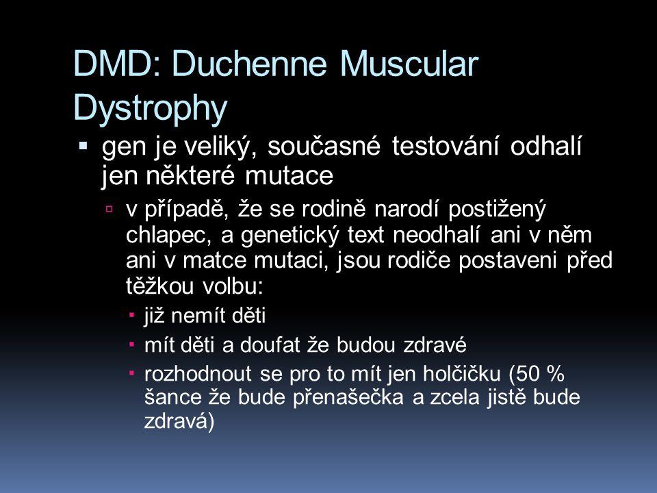 DMD: Duchenne Muscular Dystrophy