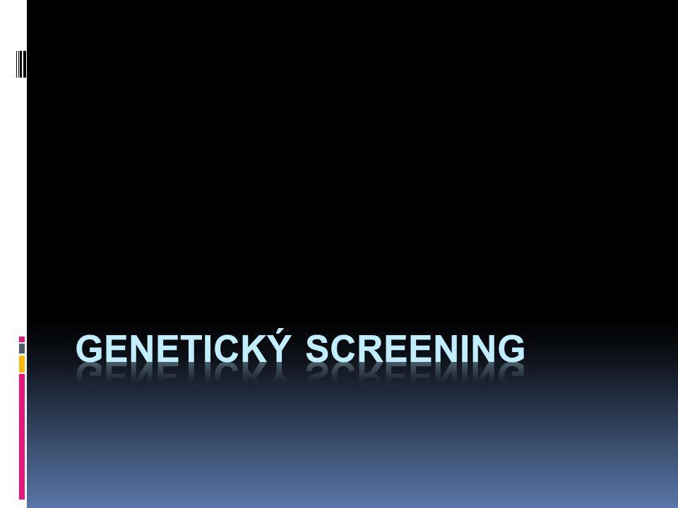 genetický screening