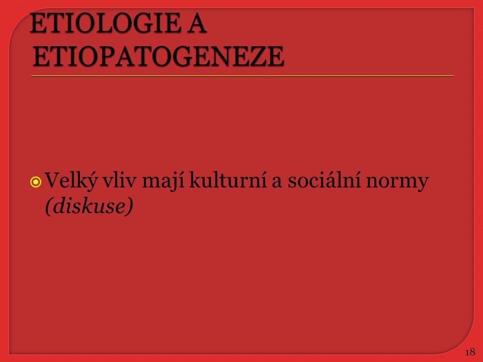 ETIOLOGIE A ETIOPATOGENEZE