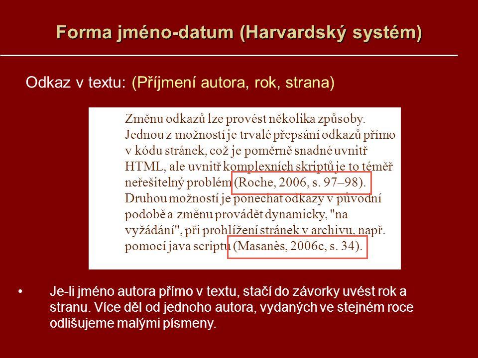 Forma jméno-datum (Harvardský systém)