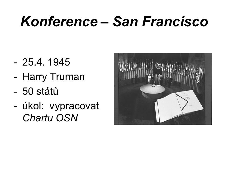 Konference – San Francisco