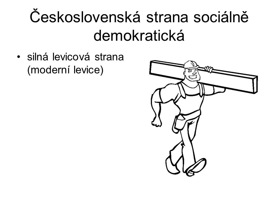 Československá strana sociálně demokratická