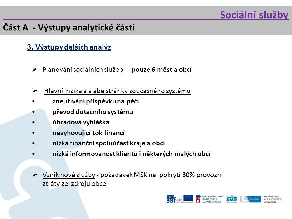 Sociální služby Část A - Výstupy analytické části