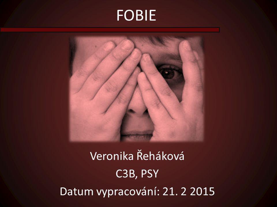 Veronika Řeháková C3B, PSY Datum vypracování: 21. 2 2015