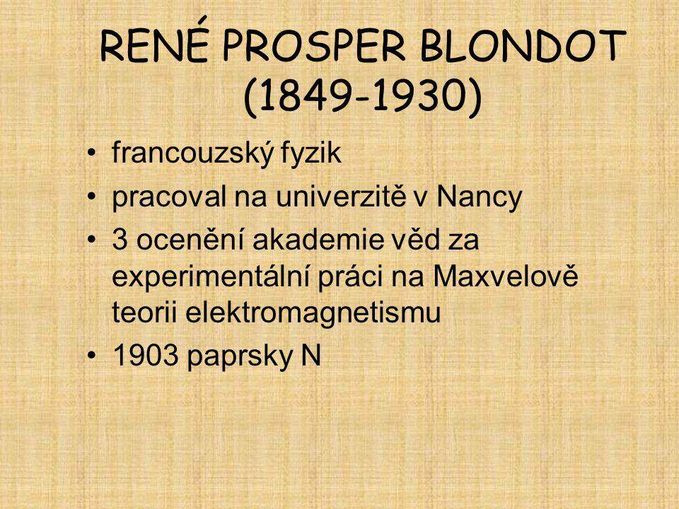 RENÉ PROSPER BLONDOT (1849-1930)