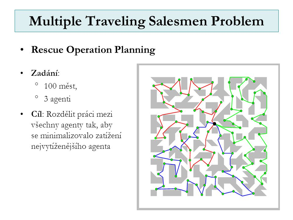 Multiple Traveling Salesmen Problem