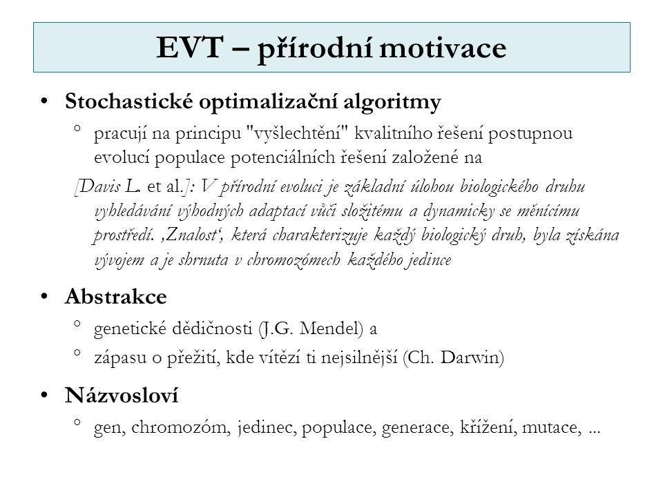 EVT – přírodní motivace