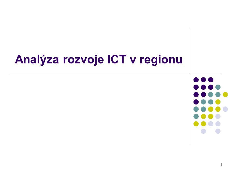 Analýza rozvoje ICT v regionu