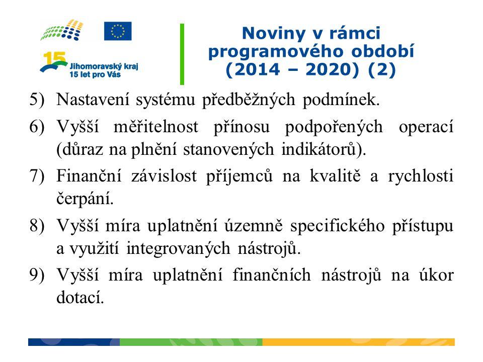 Noviny v rámci programového období (2014 – 2020) (2)