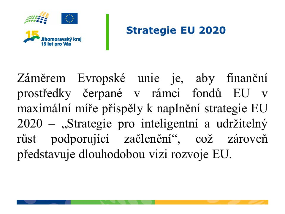 Strategie EU 2020