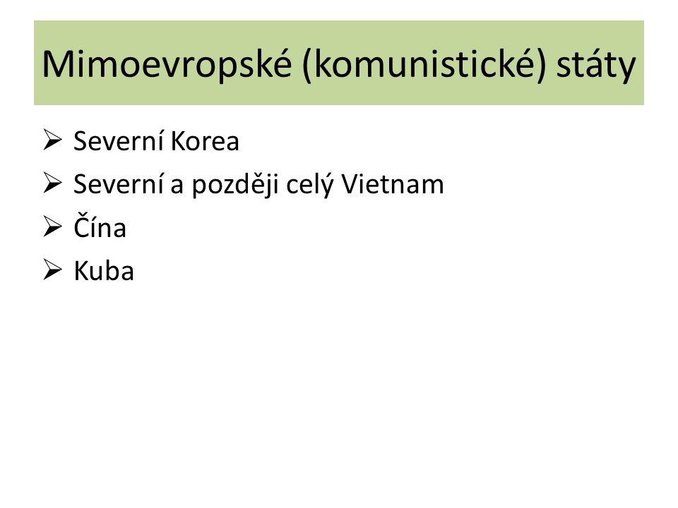 Mimoevropské (komunistické) státy