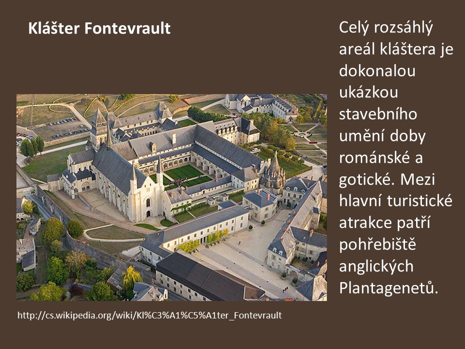 Klášter Fontevrault