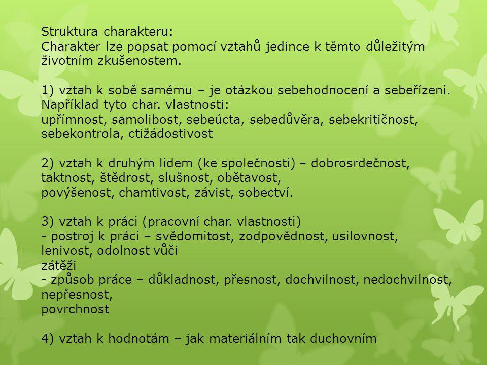 Struktura charakteru: