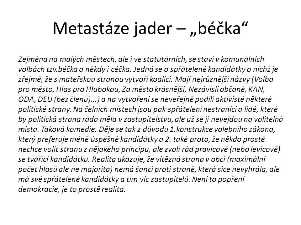 """Metastáze jader – """"béčka"""