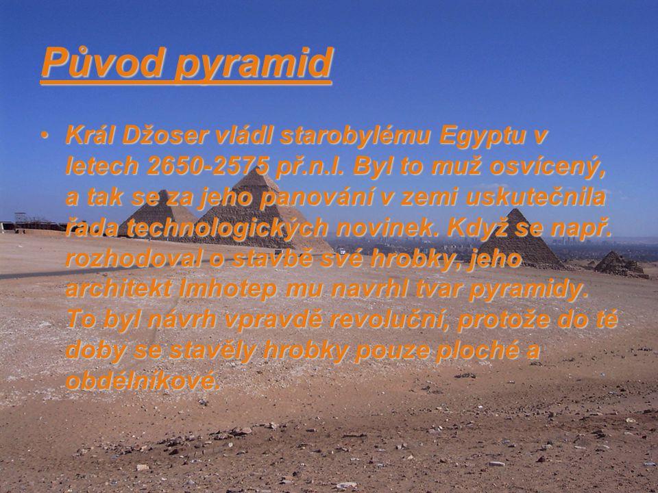 Původ pyramid