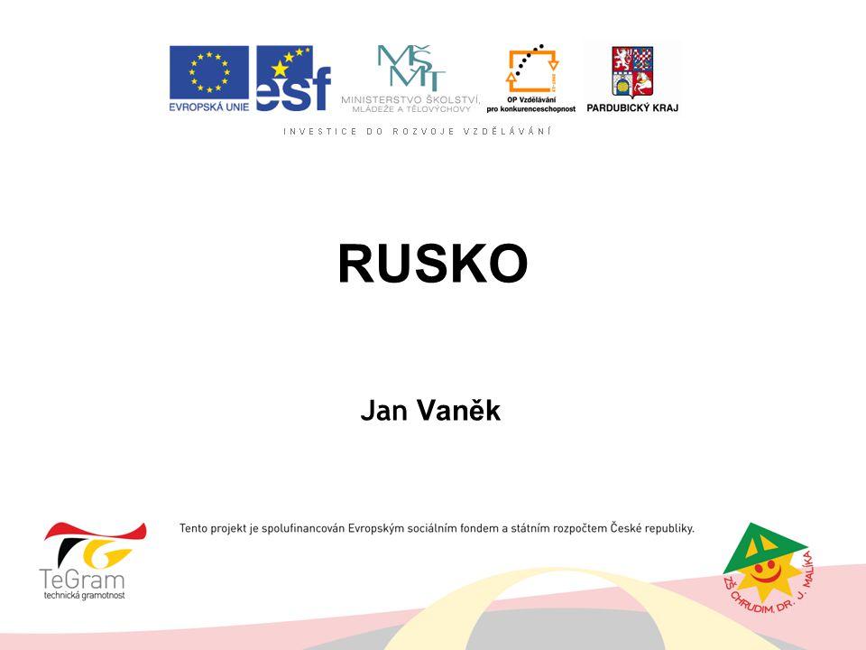 RUSKO Jan Vaněk
