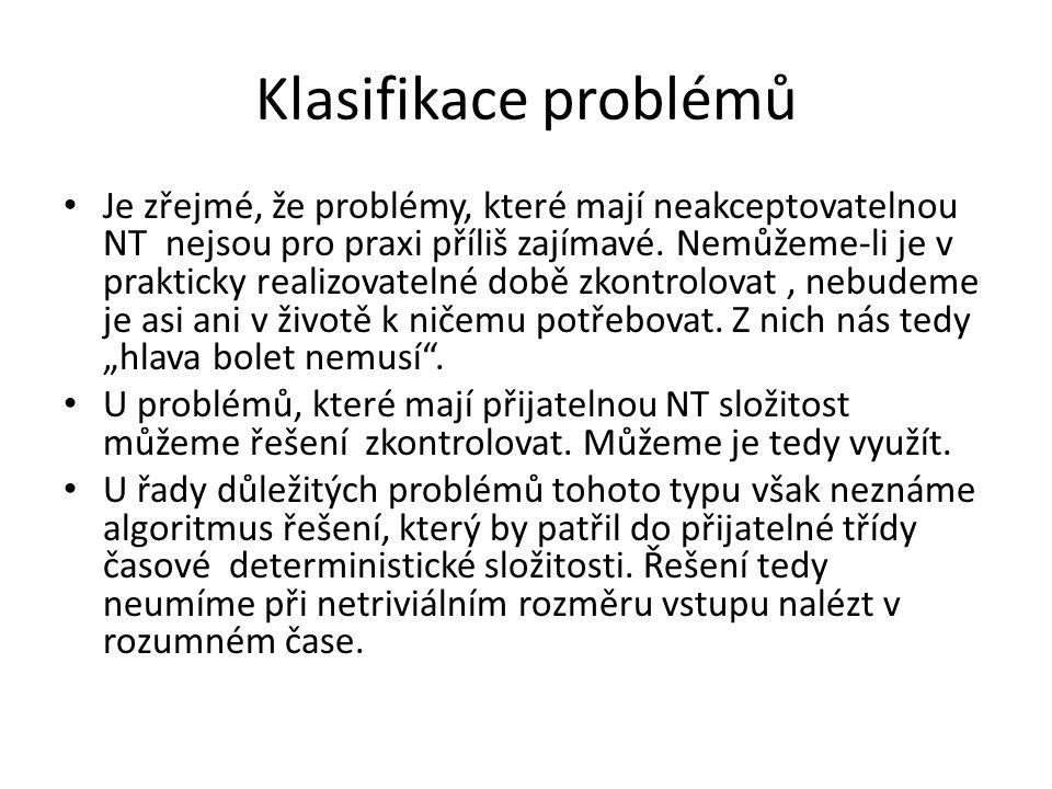 Klasifikace problémů