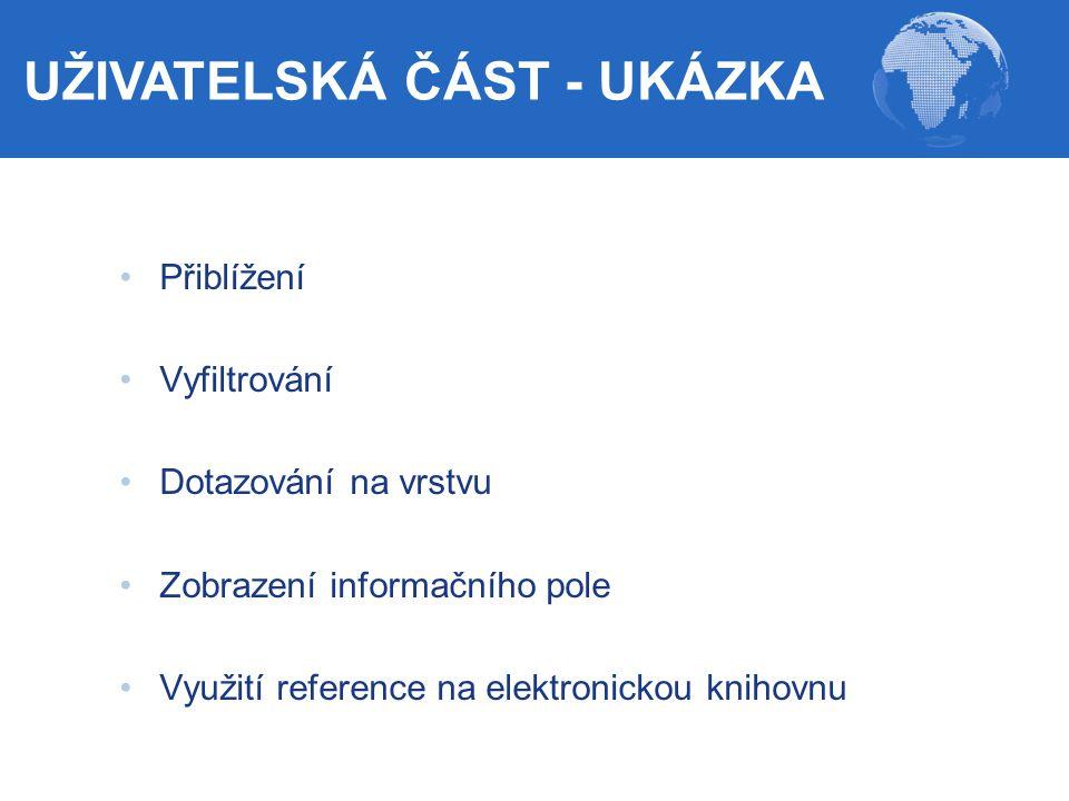 UŽIVATELSKÁ ČÁST - UKÁZKA