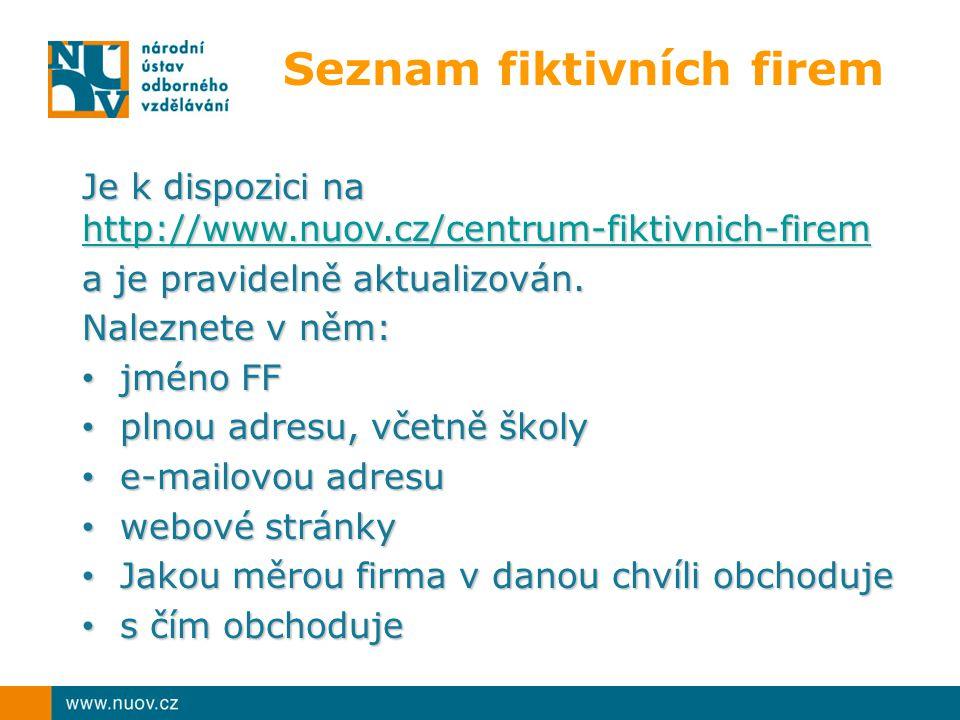 Seznam fiktivních firem