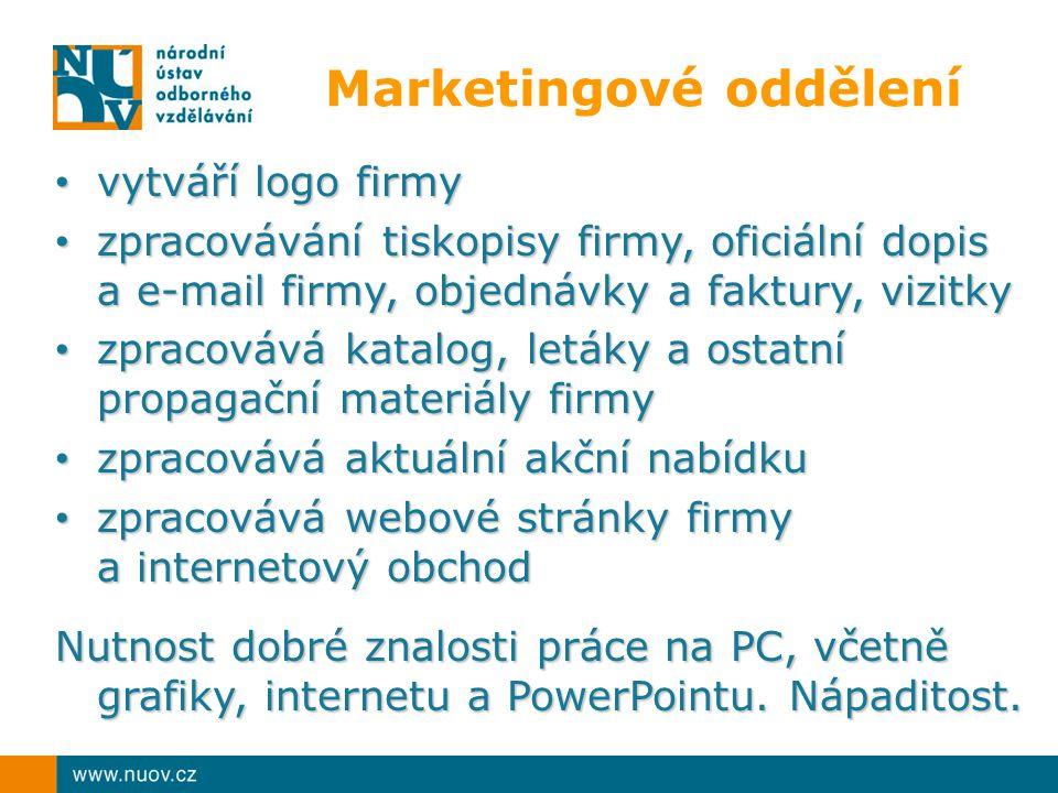 Marketingové oddělení