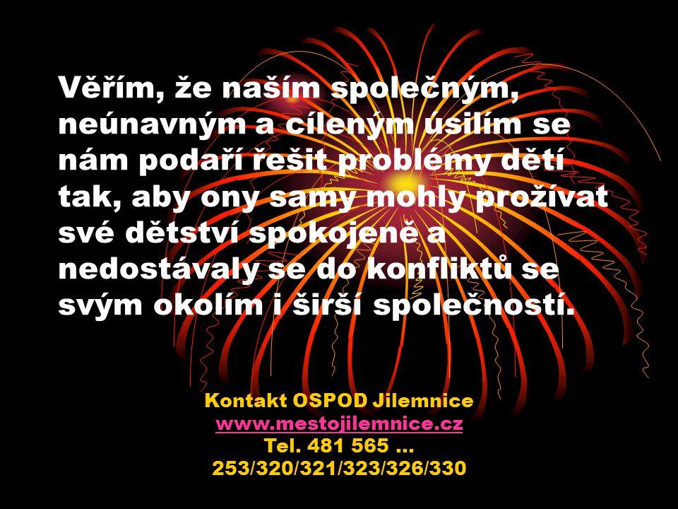 Kontakt OSPOD Jilemnice