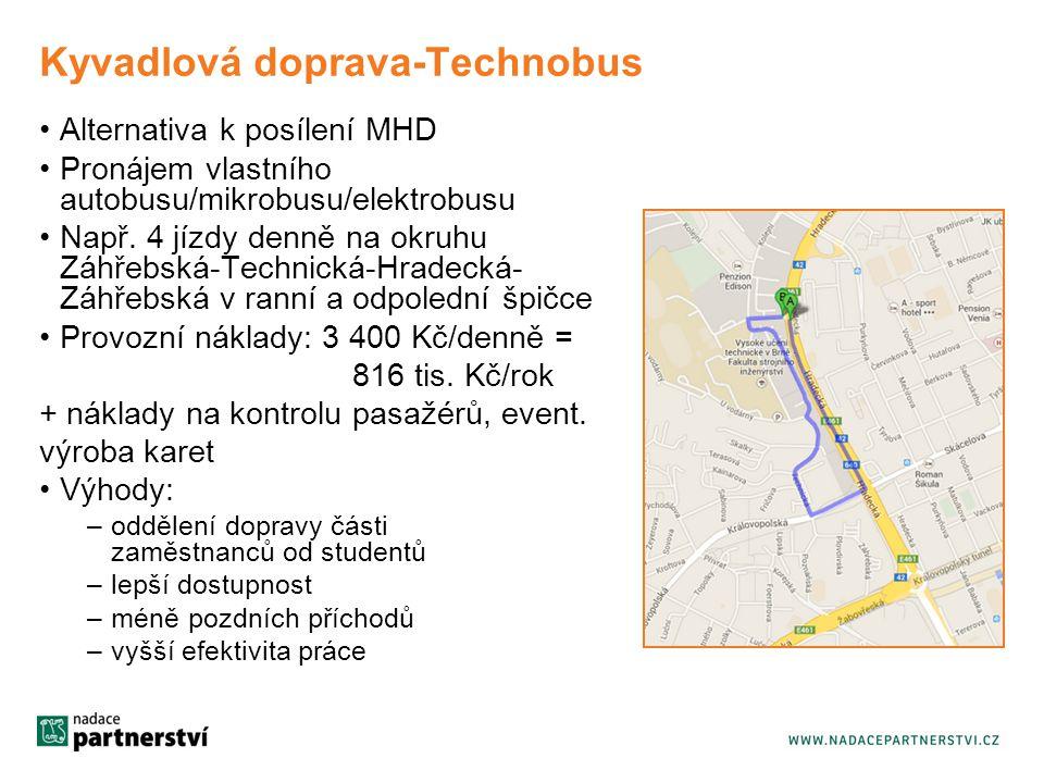 Kyvadlová doprava-Technobus