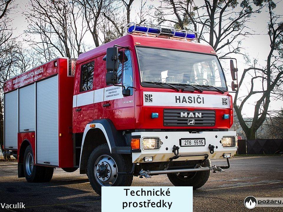 Technické prostředky Jakub Vaculík