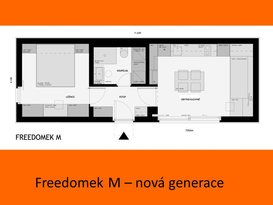 Freedomek M – nová generace