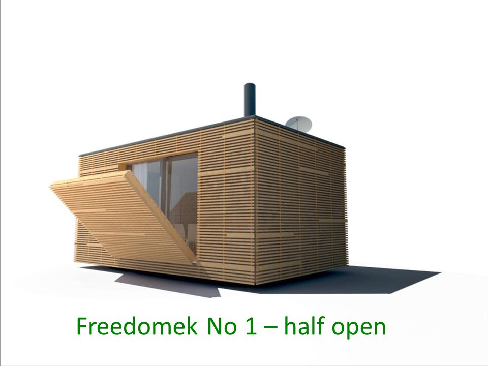 Freedomek No 1 – half open