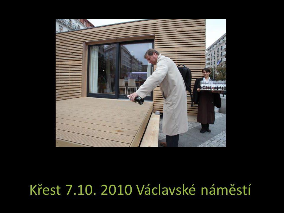 Křest 7.10. 2010 Václavské náměstí