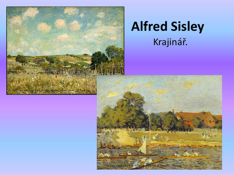 Alfred Sisley Krajinář.