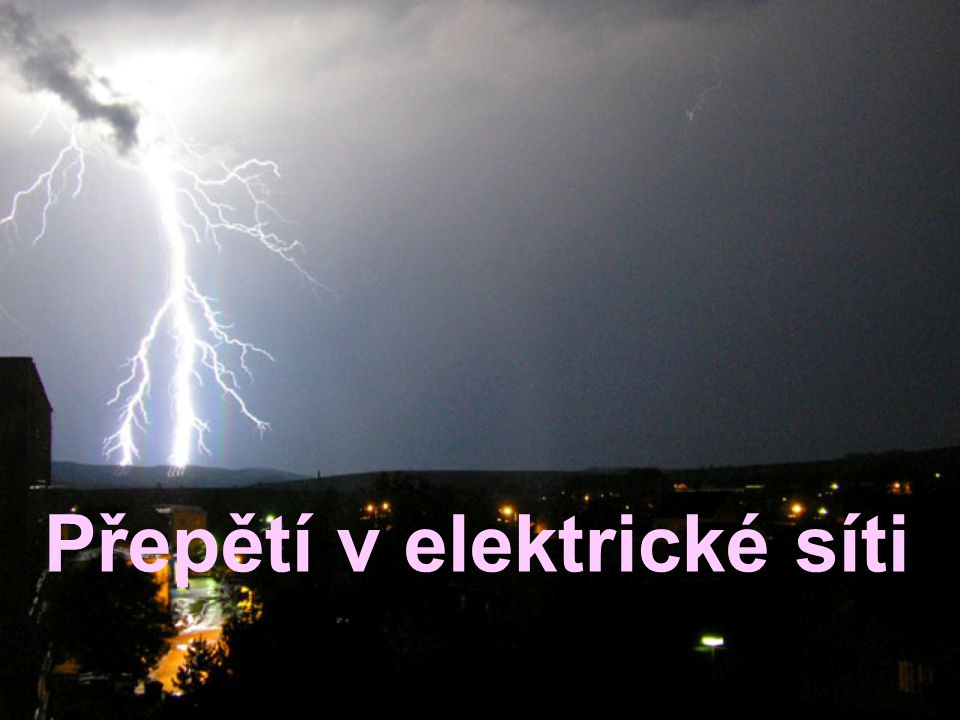 Přepětí v elektrické síti