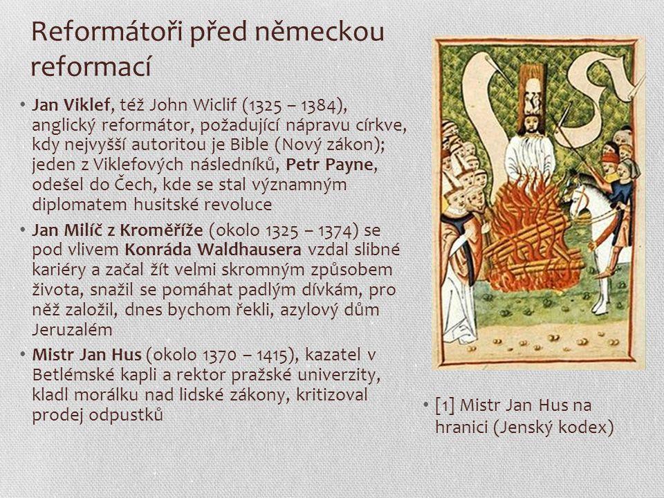 Reformátoři před německou reformací