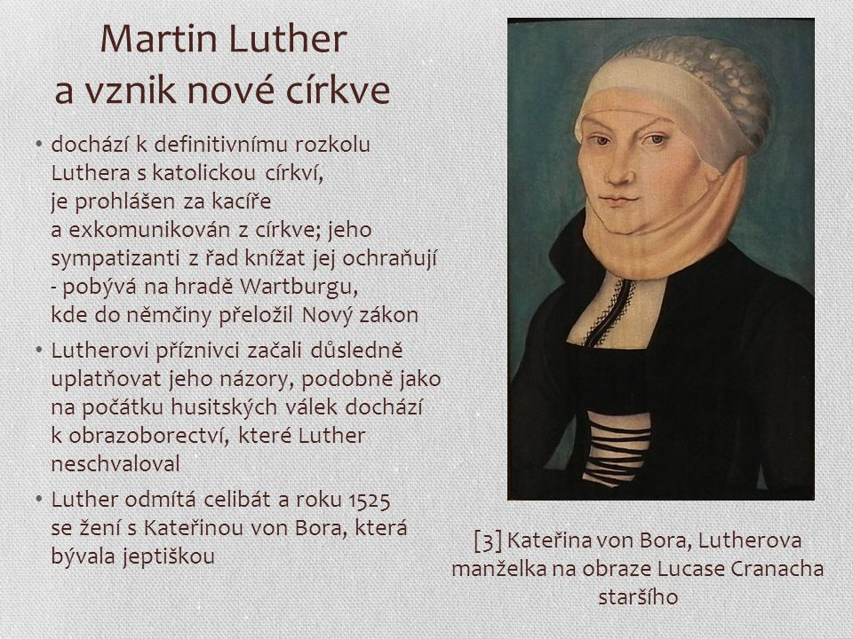 Martin Luther a vznik nové církve