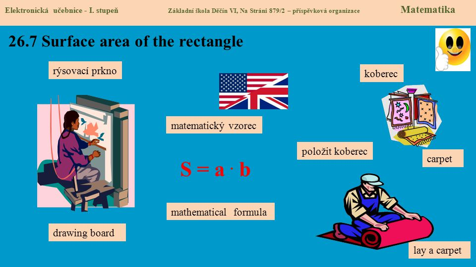 26.7 Surface area of the rectangle