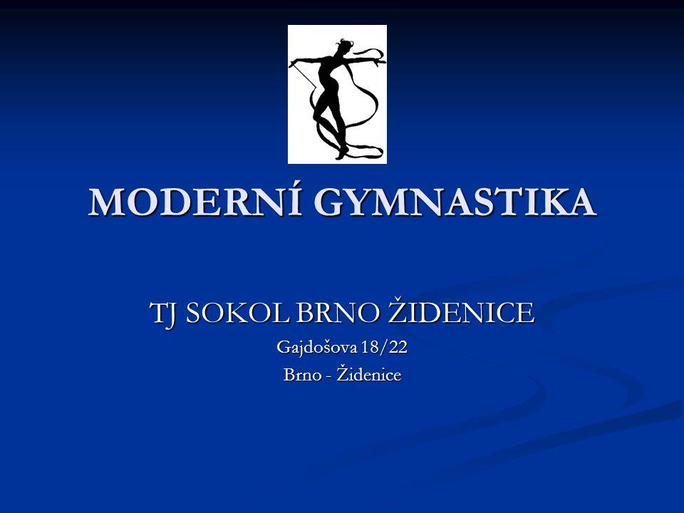 TJ SOKOL BRNO ŽIDENICE Gajdošova 18/22 Brno - Židenice