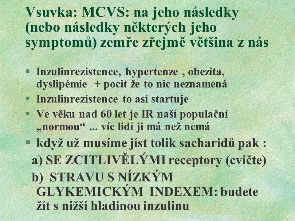 Vsuvka: MCVS: na jeho následky (nebo následky některých jeho symptomů) zemře zřejmě většina z nás