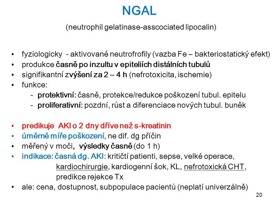 NGAL (neutrophil gelatinase-asscociated lipocalin)